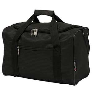 5 Cities 40x20x25 New and Improved 2020 Ryanair Maximum Sized Under Seat Cabin Holdall £8.95 (Prime) + £4.49 (non Prime) at Amazon
