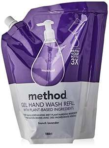 Method Hand Wash Refill, French Lavender / Sweet Water 1064ML £5.25 / £4.73 S&S (Prime) + £4.49 (non Prime) at Amazon