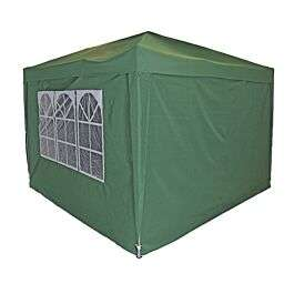 Charles Bentley 3 x 3m Pop Up Gazebo with Sides - Green £99.99 delivered with code @ Robert Dyas