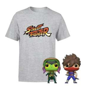 Marvel Vs Capcom T-Shirt & Pop Bundle £12.99 Delivered using code (Pre-Order / Kids Sizes £9.99) @ Zavvi