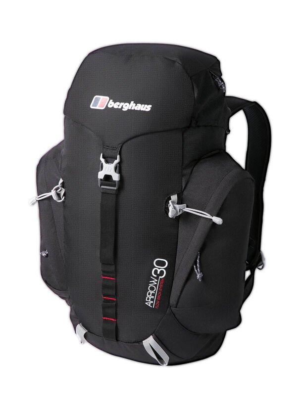 Berghaus Unisex Arrow 30L Rucksack (Black/Extreme Red) , £35.99 at Amazon
