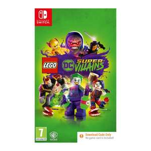 [Nintendo Switch] LEGO DC Super-Villains (Code in Box) - £9.95 delivered @ The Game Collection