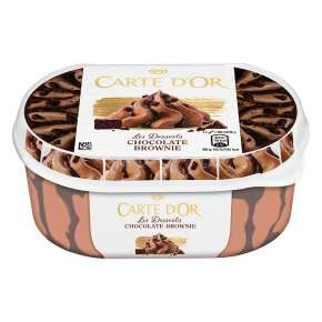 Wall's Carte D'or Chocolate Brownie Ice Cream 900ml is 99p @ Farmfoods