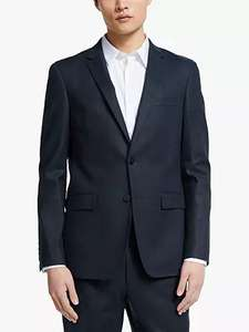 Suit Jackets on sale eg Kin Linen Slim Fit Suit Jacket, Navy £35.70 + Free Click and Collect @ John Lewis & Partners