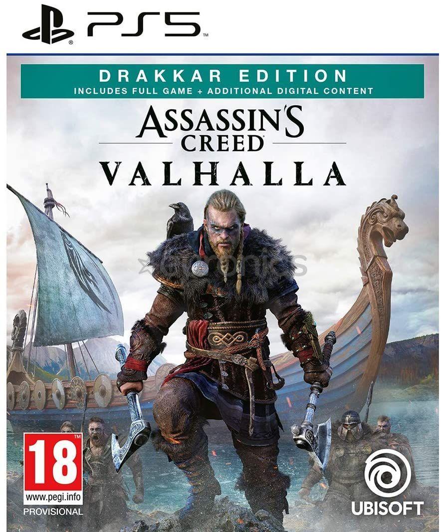 [PS5] Assassin's Creed Valhalla - Drakkar Edition (Used Ex Rental) - £27.99 delivered @ Boomerangrentals / ebay