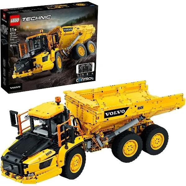 LEGO Technic 42114 6x6 Volvo Articulated Hauler £157.49 Delivered using code @ Hamleys