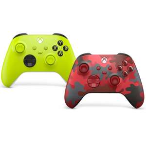Xbox Wireless Controller - Electric Volt - £49.99 / Daystrike Camo Special Edition - £54.99 Delivered @ Currys PC World