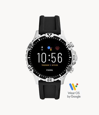 Fossil Gen 5 Smartwatch Garrett HR Black Silicone £189 @ Fossil