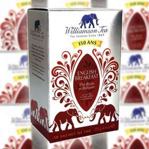12 x Williamson English Breakfast Tea 125g Boxes (Total 600 Bags) £9 delivered @ Yankee Bundles