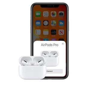 New Apple AirPods Pro - White Active Noise Cancelling £179 + £4.99 delivery @ Laptops direct