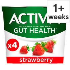 Activia Yogurt 4 x 115g (All Flavours) - £1 @ Tesco