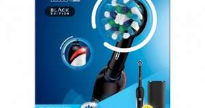 Oral-B Pro 2 2500 Black Edition Electric Toothbrush and 75ml Oral B toothpaste for £27.43 delivered @ AYP Healthcare
