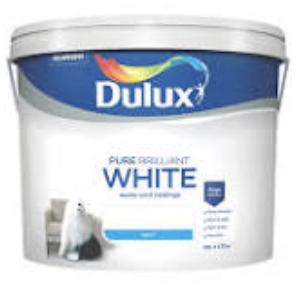 Dulux white matt emulsion - £12 Instore @ B&Q (Oxford)