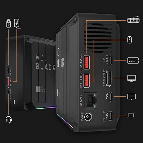 WD_Black D50 2TB SN730 NVMe SSD Thunderbolt Dock 2x USB-C 10Gb/s ports 3x USB-A 10Gb/s - £310 @ Amazon.es