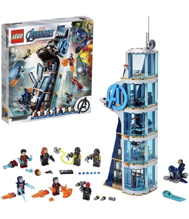 LEGO 76166 Marvel Avengers Tower - £67.99 @ Amazon