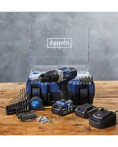 Scheppach COMBI drill bundle set - £99.99 Delivered @ Aldi