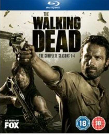 Walking Dead Season 1 - 4 blu ray - £6.60 @ Rarewaves