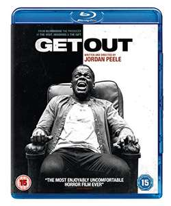 Get Out [Blu-ray] £4.95 + £2.99 NP @ Amazon