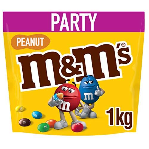 M&M's Peanut Chocolate Party Bulk Bag, 1kg - £5.67 Prime/+£4.49 Non Prime @ Amazon
