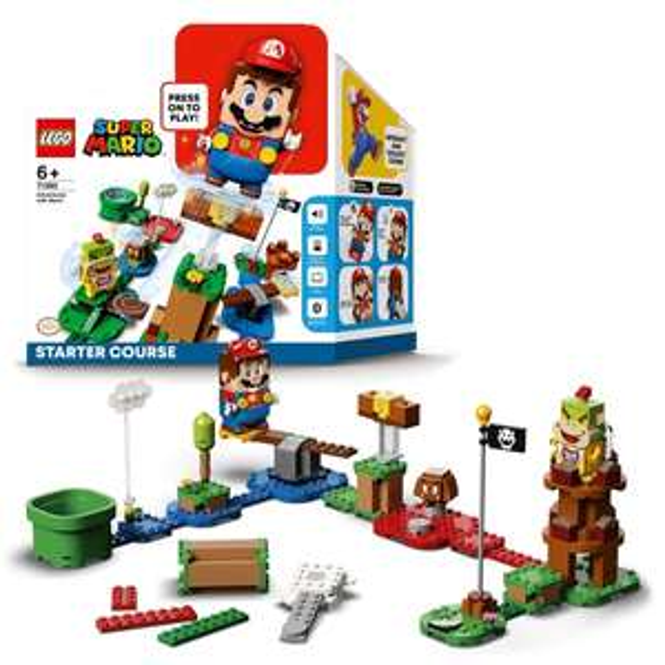 Lego Mario 71360 Starter course - now £29.99 delivered @ Smyths Toys