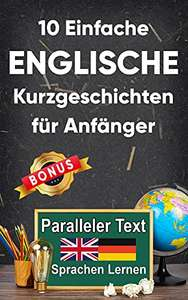 10 english-german short stories for beginners FREE for Kindle @ Amazon