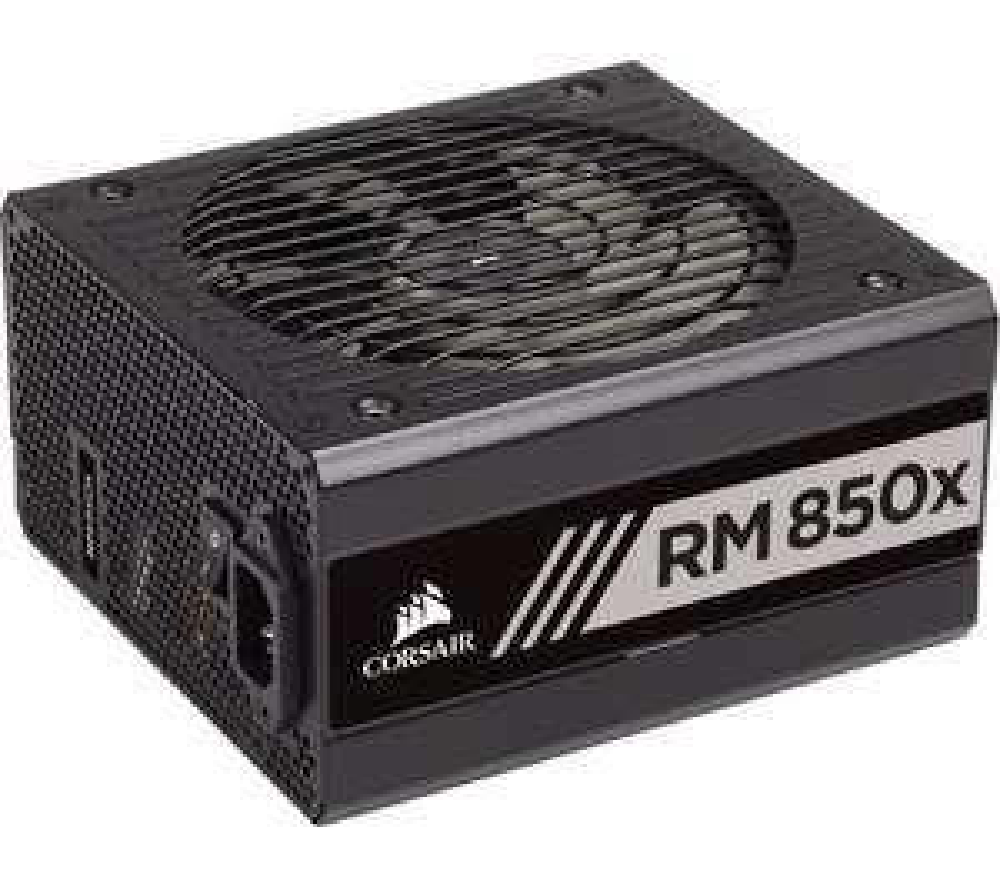 CORSAIR RM850x Modular ATX Gold Rated PSU - 850W £115 using code @ Currys PC World