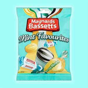 12 x Maynards Bassetts Mint Favourites 192g Bags £8 (Best Before 01/07/2021) @ Yankee Bundles