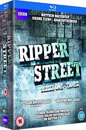 Ripper Street - Series 1-3 [Blu-ray] £5.45 (+£2.99 non-prime) @ Amazon