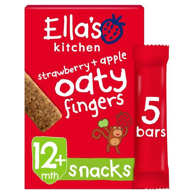 Ella's kitchen strawberry & apple oaty fingers 25p @ Asda (Smethwick)