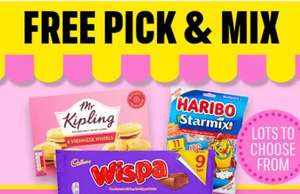 Free £2 treats with code (online exclusive / min basket applies) @ Iceland