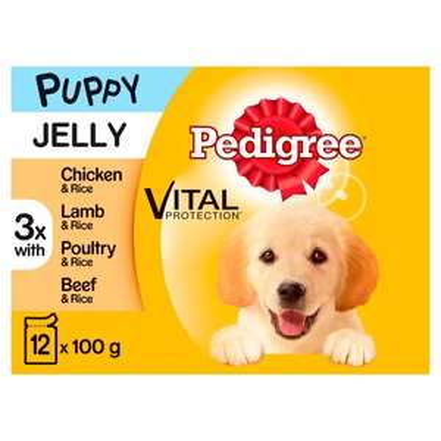 Pedigree chum puppy pouches 12x100g £1.10 @ Asda (Hollyhedge Road)