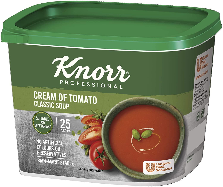 Knorr cream of tomato soup Mix (Makes 4.25 Litres) £3.18 (+£4.49 non-prrime) @ Amazo