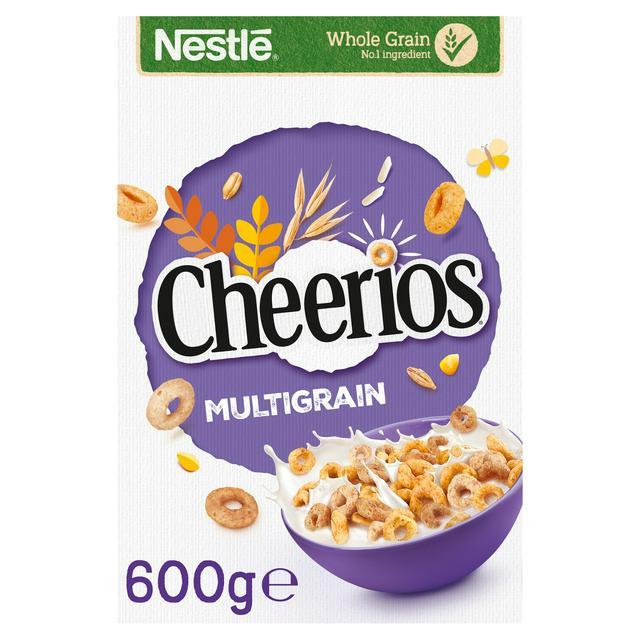 Nestle Cheerios Multigrain Cereal 600g £2 @ Morrisons