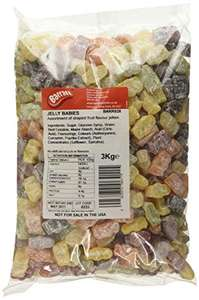 Barratt Jelly Babies 3Kg £10.13 Prime (+£4.49 Non-Prime) @ Amazon