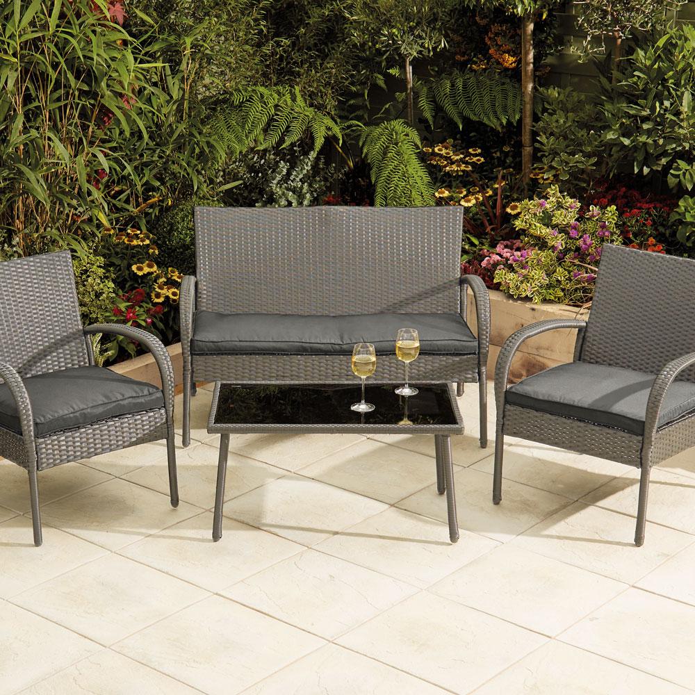 4 piece patio set £70 in Morrison's Shrewsbury