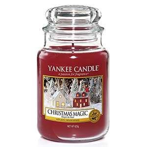 Yankee Candle Scented Candle | Christmas Magic Large Jar Candle | Burn Time: Up to 150 Hours £10.42 Amazon Prime (+£4.49 Non Prime)