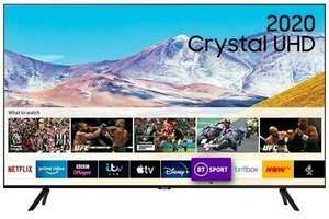 Samsung UE75TU8000 (2020) HDR 4K Ultra HD Smart TV, 75 inch with TVPlus - FREE 5 Year Warranty £835 at reliantdirect ebay