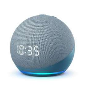 Amazon Echo Dot (4th Gen) with a Clock - Blue £49.99 at BT Shop