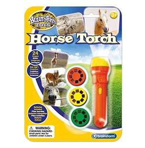 Brainstorm Toys Horse Torch and Projector £2.93 (Prime) + £4.49 (non Prime) at Amazon
