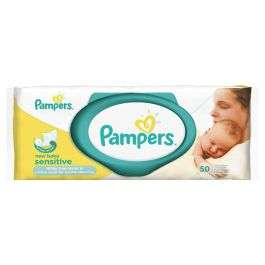 Pampers New Baby Sensitive Wipes 50s £1.00 a pack, £4.95 delivered @ Chemist.co.uk