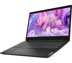 "Lenovo IdeaPad 3 15.6"" Laptop - AMD Ryzen 5, 256 GB SSD, Black £429 at Currys PC World"