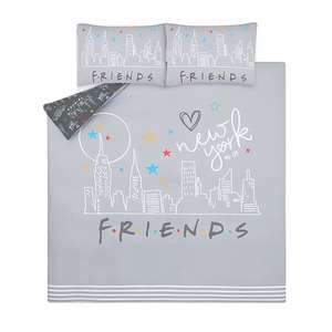 FRIENDS Reversible Double Duvet Cover Set - £10 + Free Click and Collect @ George (Asda)
