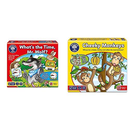 2 Orchard Toys - What's the Time, Mr Wolf Game & Toys Cheeky Monkeys Game £8.67 Amazon Prime / £13.27 Non Prime @ Amazon