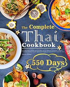 The Complete Thai Cookbook: 550 Days Easy Recipes Kindle Edition - Free @ Amazon