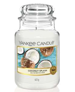 Yankee Candle Original Large Jar Coconut Splash - £11.99 + £1.50 Click and Collect / £3.50 delivery @ Boots