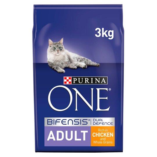 Purina One Bifensis 3KG Adult Cat Food - £6 instore at Asda, Beeston