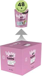 Wagg Training Treats With Chicken, Beef and Lamb, 125 g - 48 count £35.17 / £33.41 S&S + 35% voucher on first S&S @ Amazon