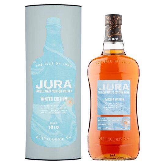 Jura Winter Edition Malt Whisky 1Litre - £24.75 instore @ Tesco Metro, Cardiff - Canton Branch.