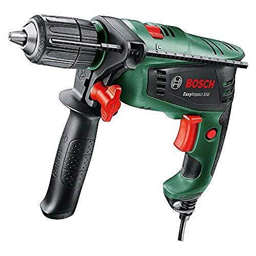 Bosch 0603130070 EasyImpact 550 Hammer Drill, Green, 12.5 cm*37.0 cm*38.6 cm £40 @ Amazon