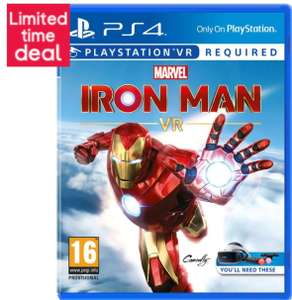 Marvel's Iron Man VR PS4 £22.97 delivered @ Currys PC World